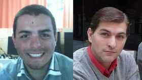 A la izquierda, José Rafael. A la derecha, César Román.