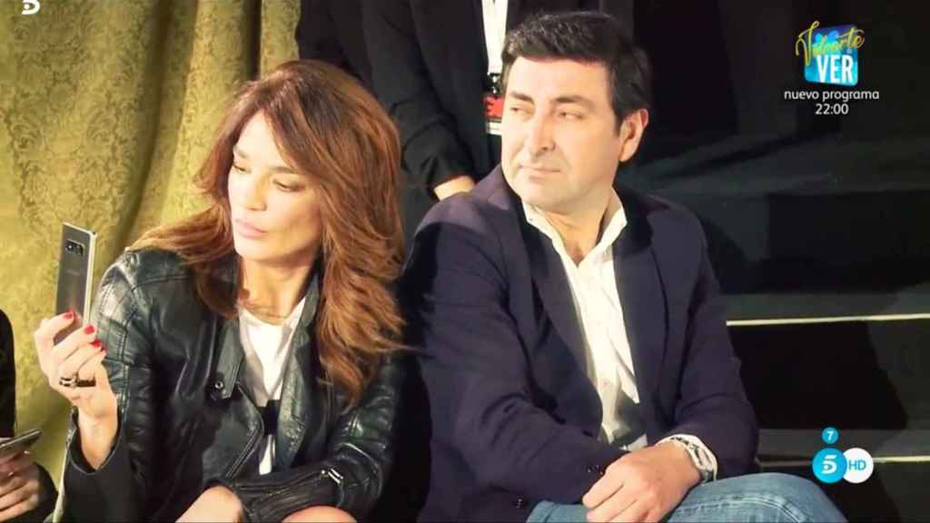 Raquel Bollo y su actual pareja, Mariano Jorge Gutiérrez