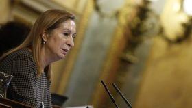 La presidenta del Congreso, Ana Pastor, en la sesión de este miércoles.