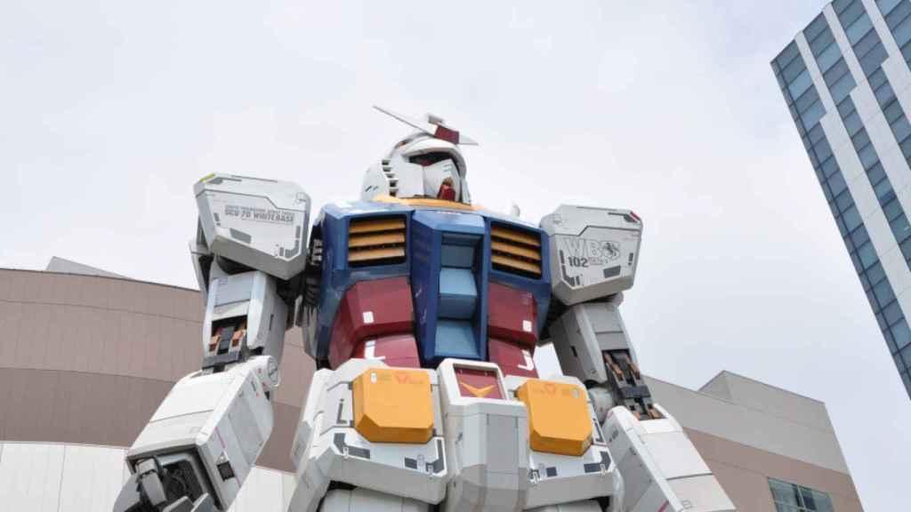 gundam robot gigante 3