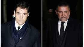 Luis Alfonso y Jaime Martínez Bordiú en montaje JALEOS.