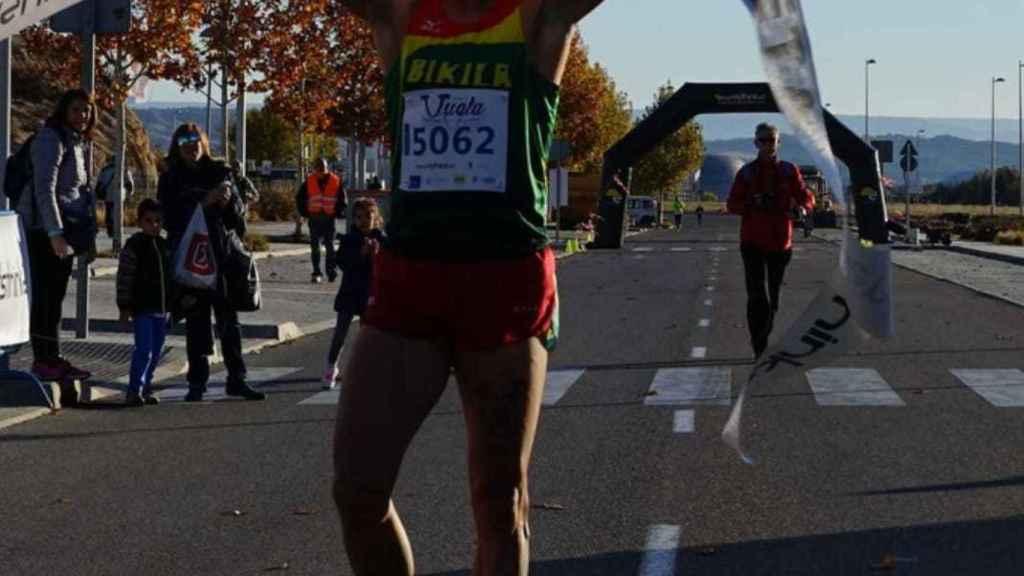 Juan Miguel Esteban, triatleta madrileño.