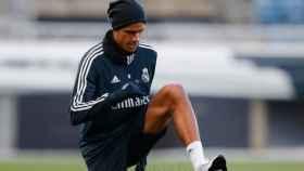 Así fue la vuelta de Varane y Courtois a los entrenamientos del Real Madrid