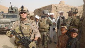 Alberto Kouiche, en Afganistán.