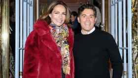 Jorge Vázquez junto a  Adriana Abascal.