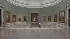 La sala 12 del Museo del Prado, donde están expuestas 'Las meninas' de Velázquez.