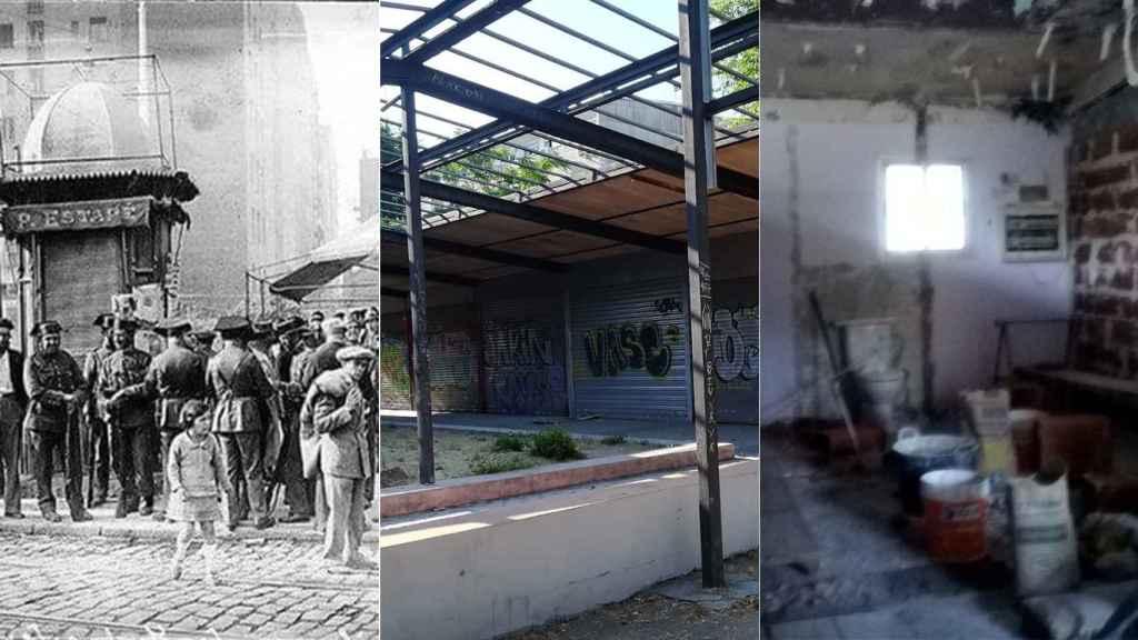 El mercado del poblado dirigido de Fuencarral y sus obras para convertirlo en zulos.