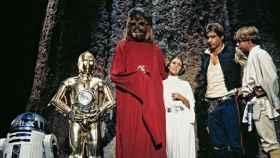 Fotograma del Star Wars Holiday Special, el mayor bodrio jamás filmado.