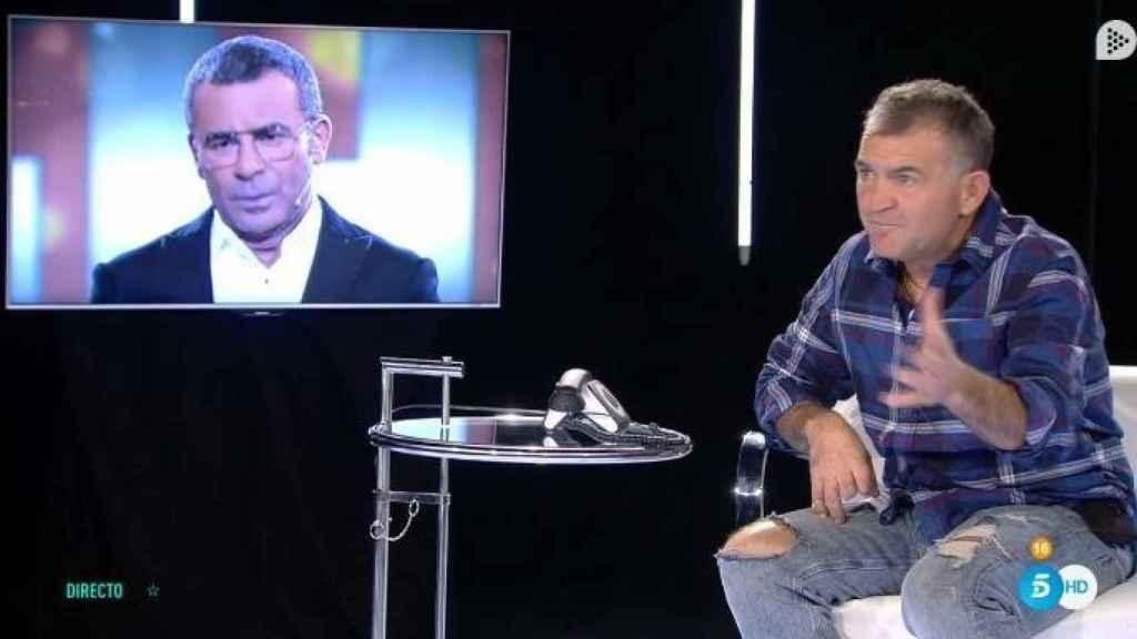 Jorge Javier hablando con Koala en 'GH VIP'.