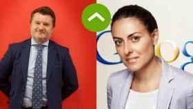 Alberto Ruano (Lenovo) y Bárbara Navarro (Google).