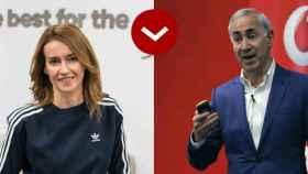 Marta Ríos (Adidas) y Antonio Coimbra (Vodafone).