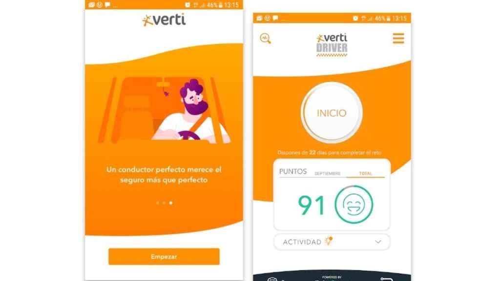 Verti Driver consigue 20.000 descargas y 2,9 millones de kilómetros en dos meses