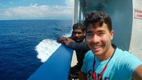 El misionero Chau en una foto de su Instagram el pasado octubre.