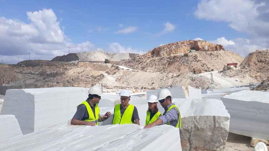 El mármol es uno de los motores económicos de la economía almeriense.
