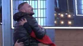 'GH VIP': Tony Spina y Míriam, muy unidos en la fiesta del viernes