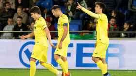 Gerard Moreno, en un partido del Villarreal