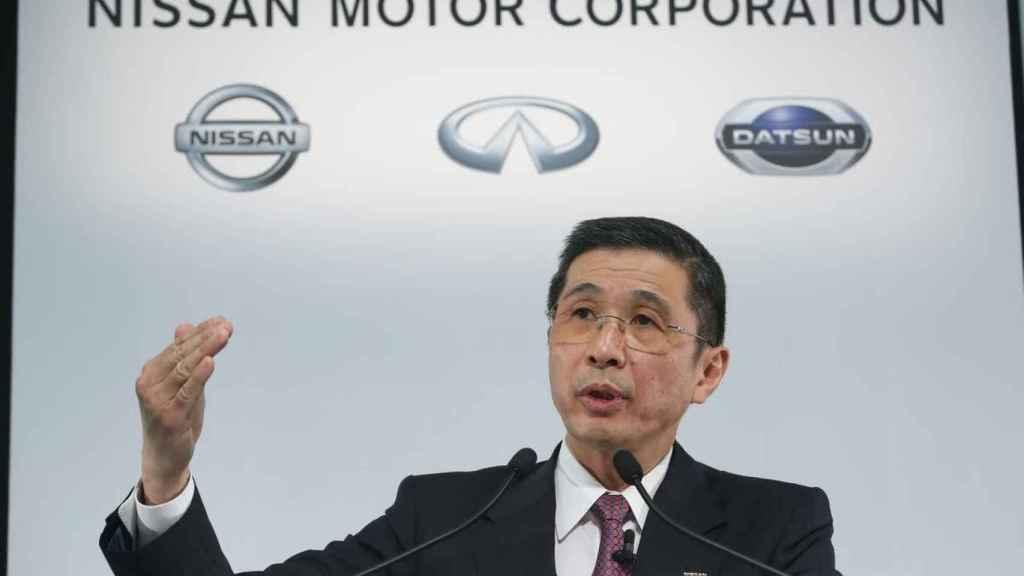 Hiroto Saikawa, máximo responsable de Nissan.