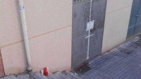El suceso ha tenido lugar en un local ubicado en la confluencia de la calle Desmonte con la calle Cuenca
