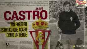 Esquela de la muerte de Jesús Castro