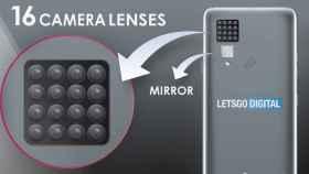 LG se vuelve loca: patenta un móvil de 16 cámaras