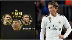 Los Globe Soccer Awards ningunean a Modric