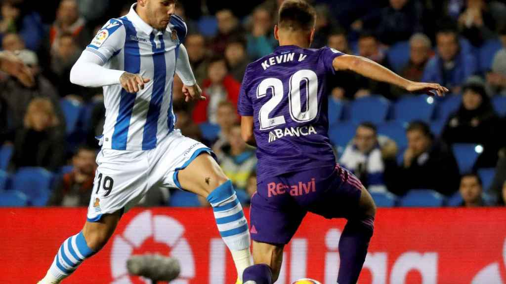 Theo Hernández ante el Celta de Vigo