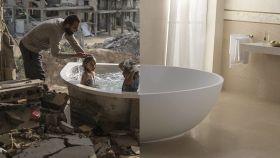Juntar dos fotos es todo lo necesario para mostrar la desigualdad en el mundo