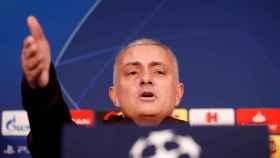 José Mourinho en rueda de prensa