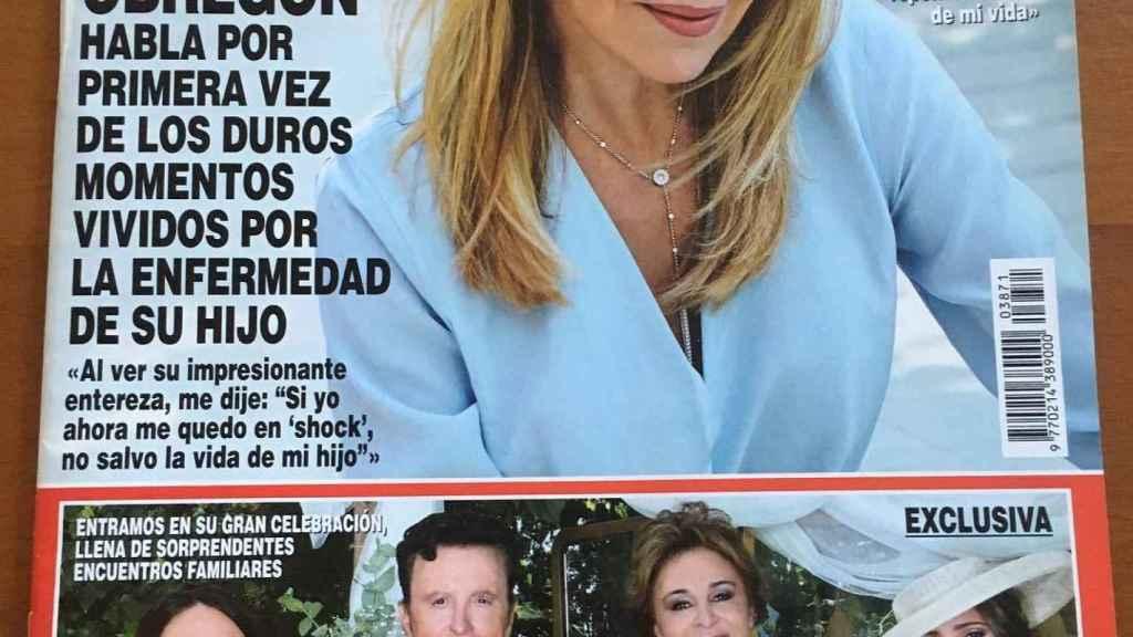 Ana Obregón, en la revista '¡HOLA!'.