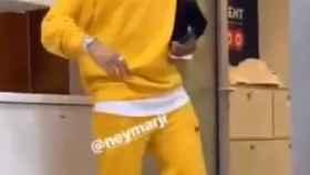 Neymar con su nuevo look