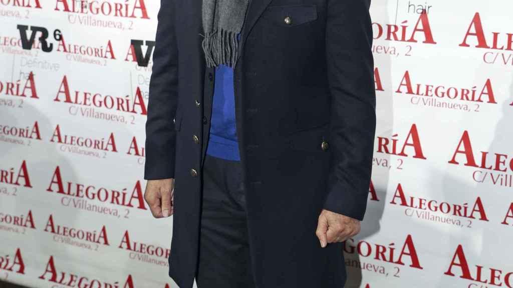 Ortega Cano, este lunes en un evento en Madrid.