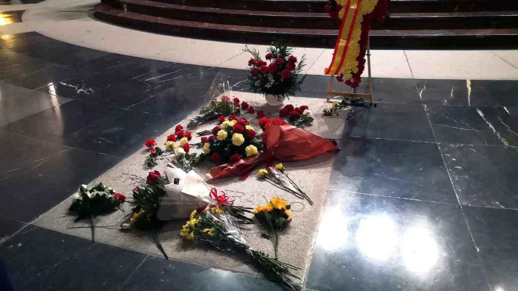 Tumba de Franco en la Basílica del Valle de los Caídos.