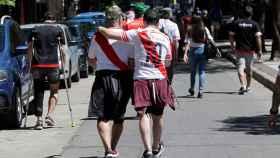Aficionados de River Plate.