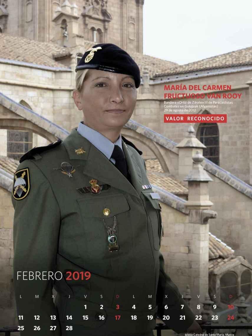 Febrero, María del Carmen Fructuoso Van Rooy.