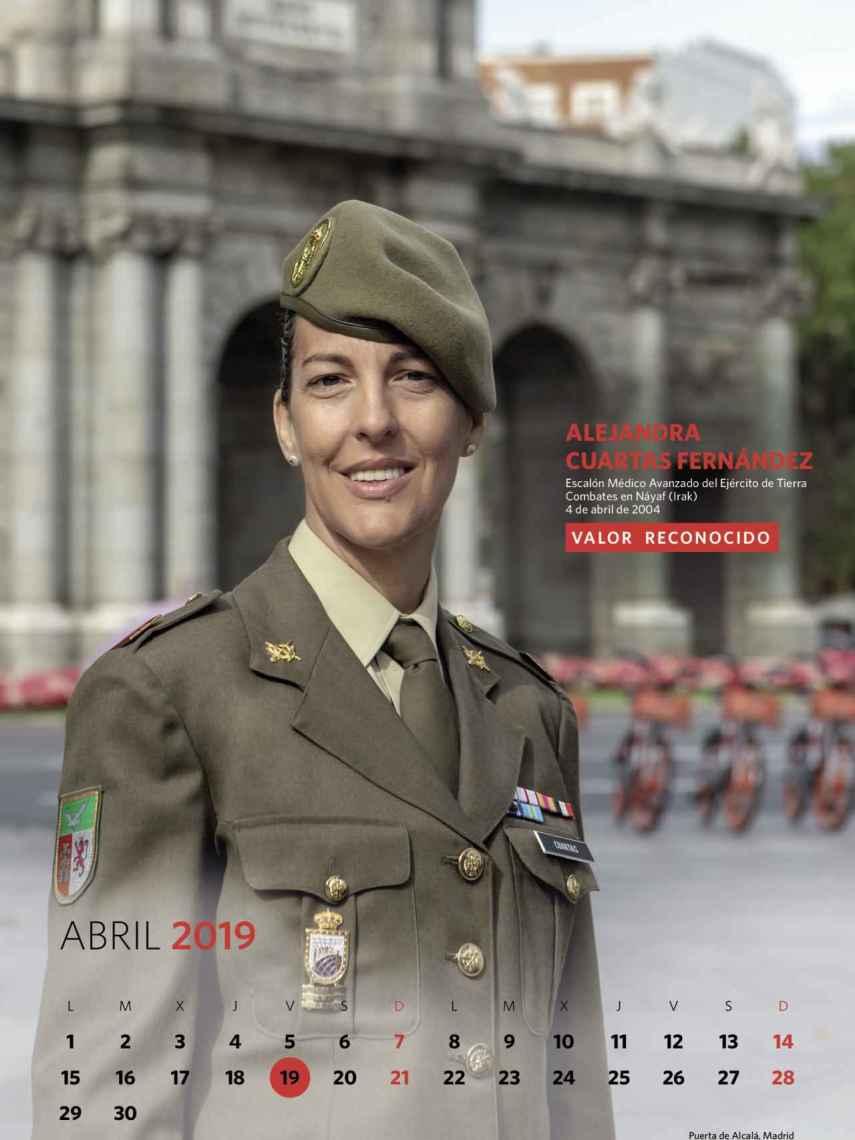 Abril, Alejandra Cuartas Fernández.