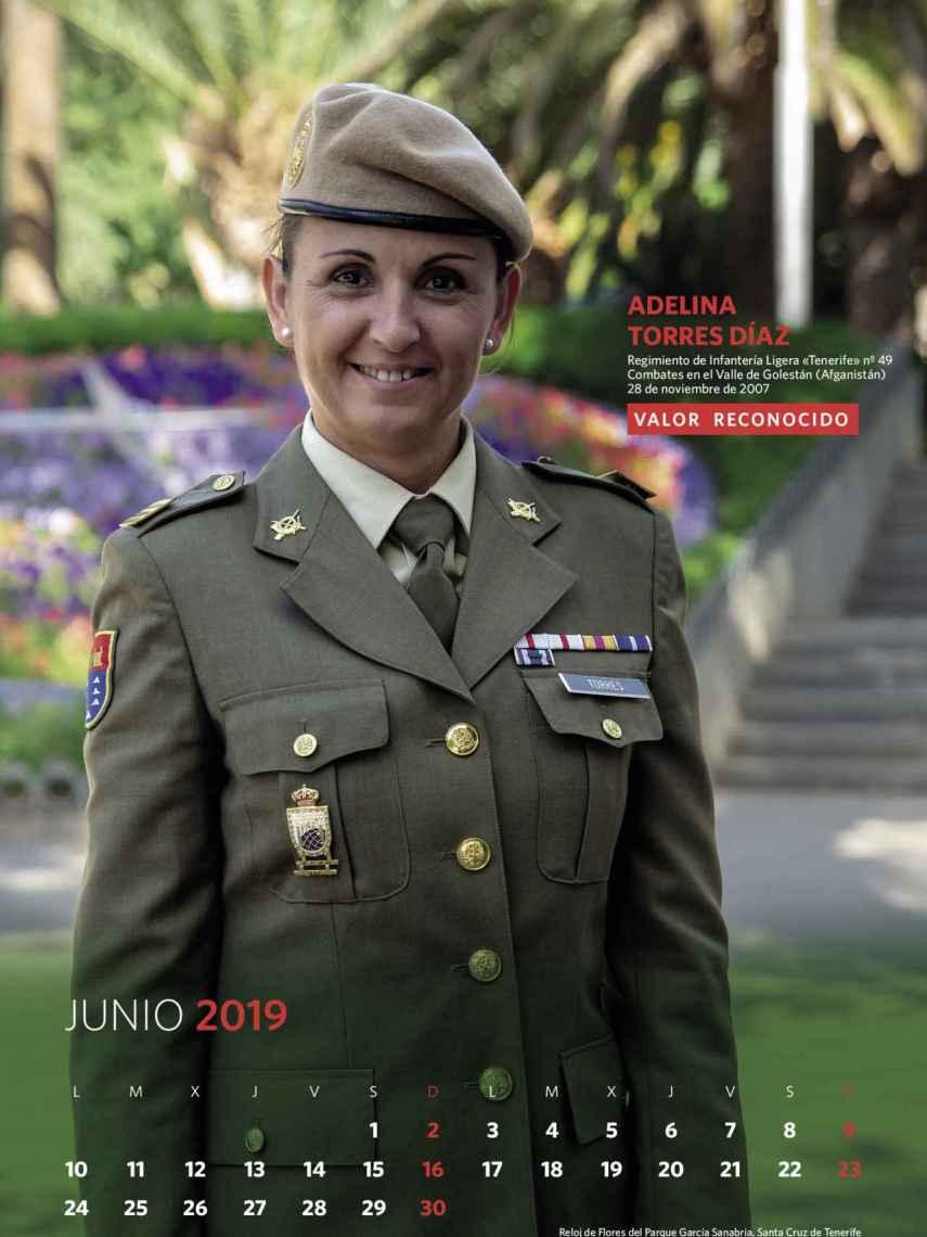 Junio, Adelina Torres Díaz.
