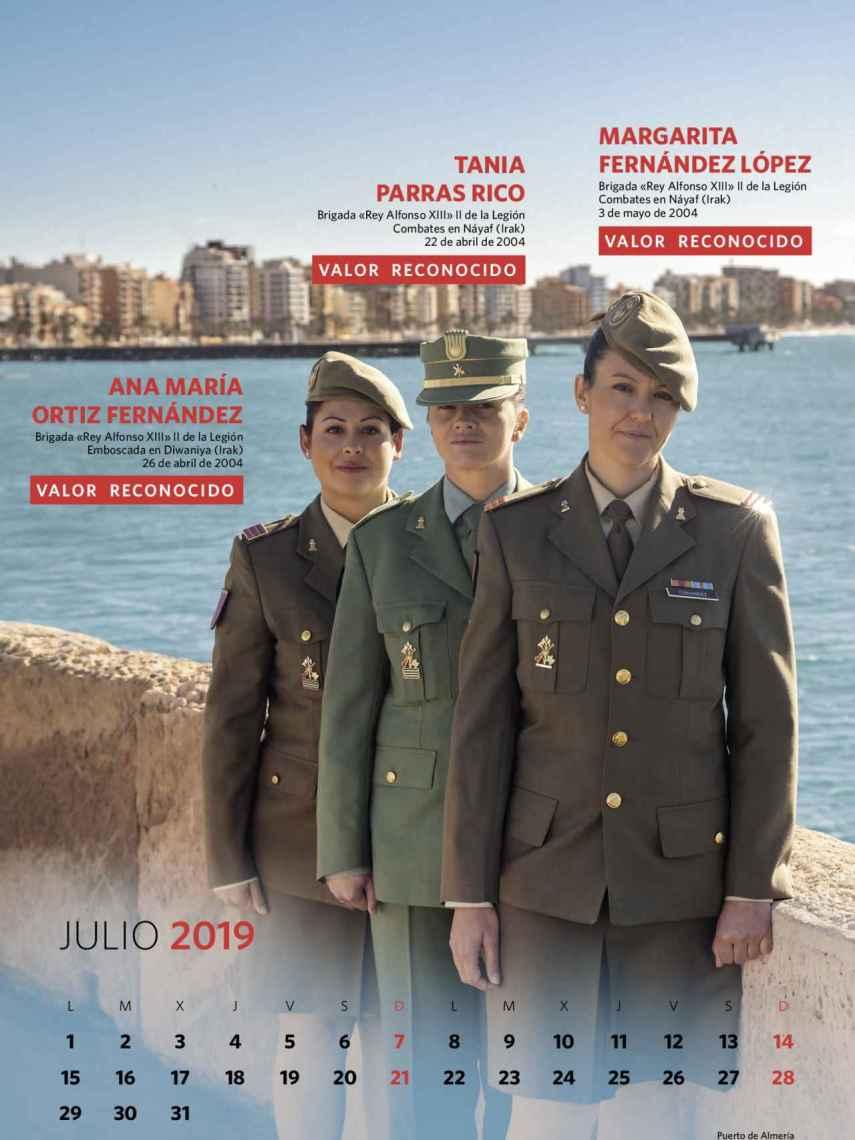 Julio, Ana María Ortiz Fernández, Tania Parras Rico, Margarita Fernández López.