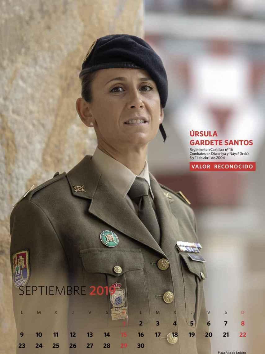 Septiembre, Úrsula Gardete Santos.