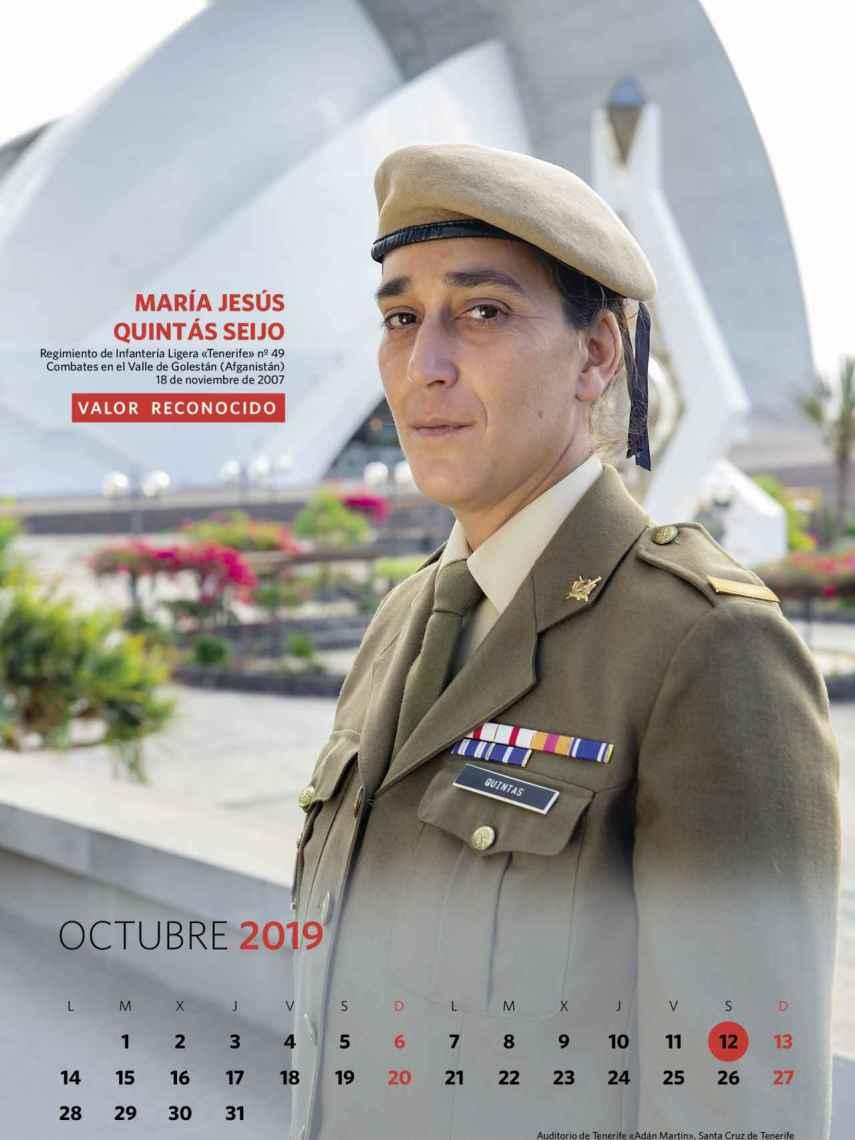 Octubre, María Jesús Quintás Seijo.