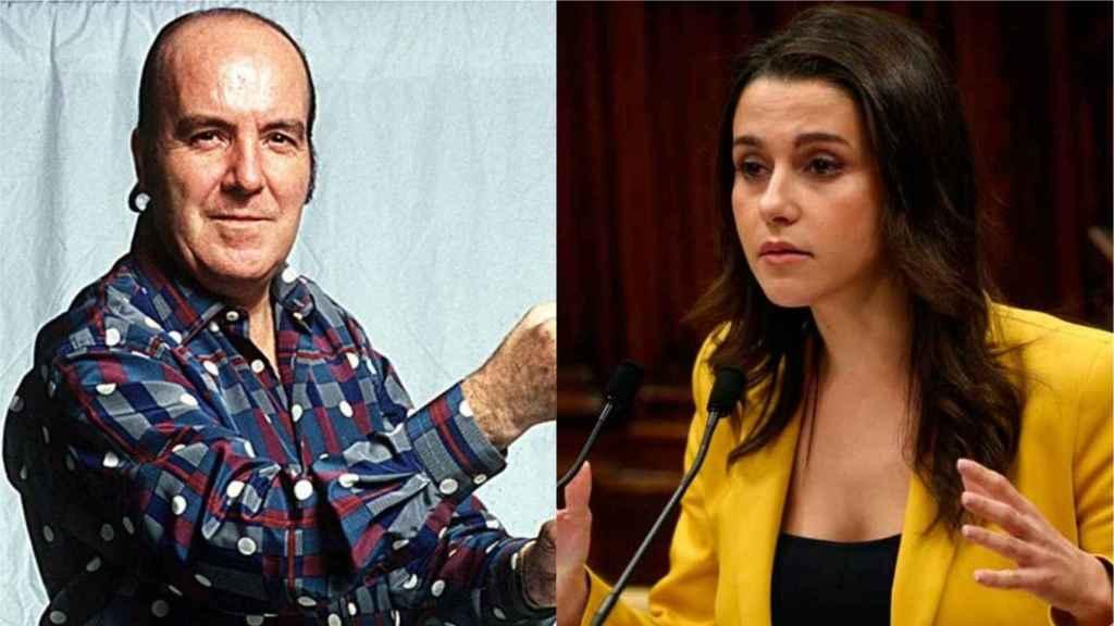 Chiquito e Inés Arrimadas.