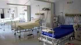 Imagen de archivo del interior de un hospital.