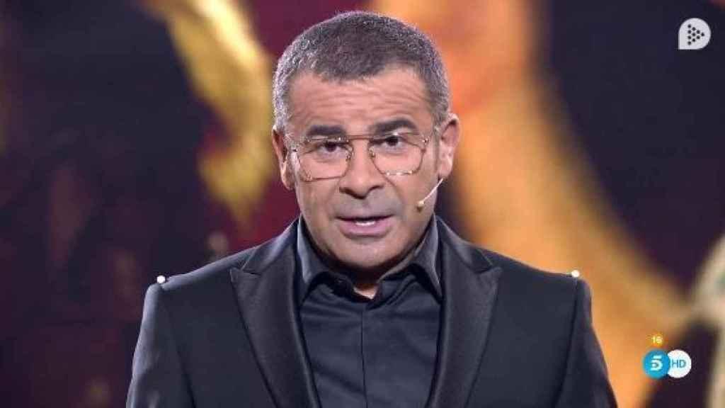 Jorge Javier durante su censura en 'GH VIP'.