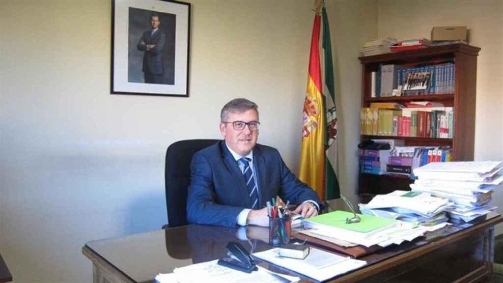 El juez decano de Córdoba, Miguel Ángel Pareja. Fue quien absolvió a los seis clientes que pagaron a una menor a cambio de mantener relaciones sexuales con ella.