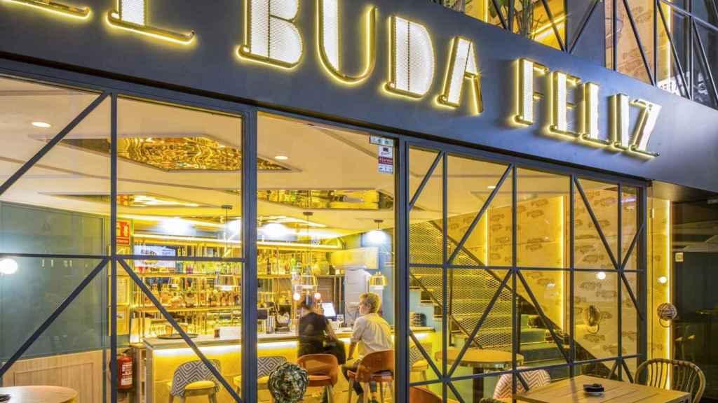 La fachada del nuevo El Buda Feliz.