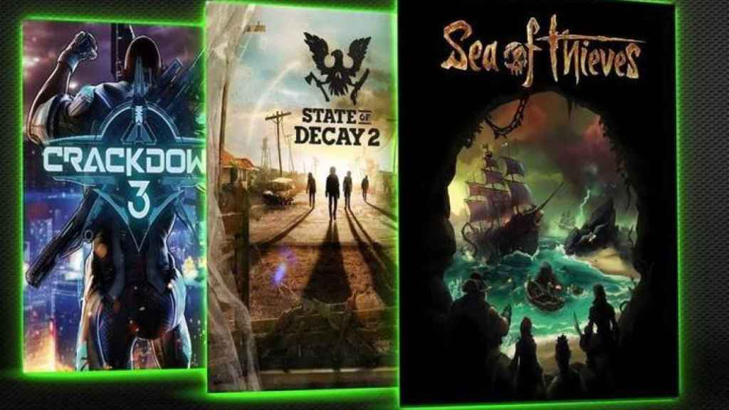 Tres juegos disponibles para Xbox Game Pass.