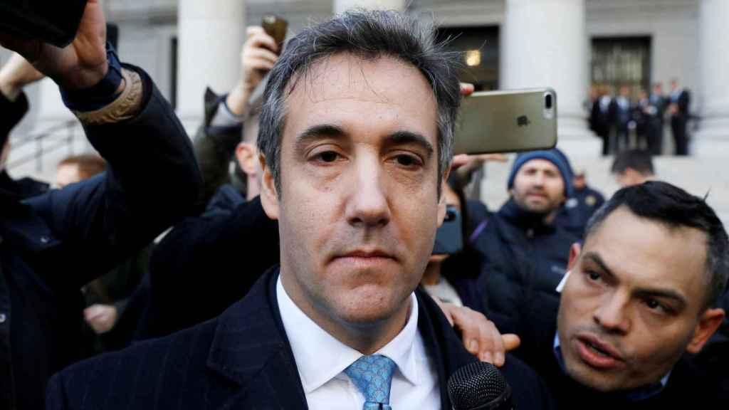Cohen, exabogado de Trump.