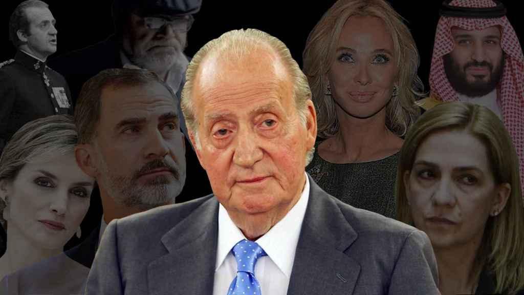 Los fantasmas del rey Juan Carlos.