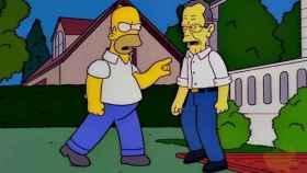 El día que George Bush salió en 'Los Simpson'
