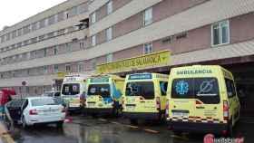 hospital clinico ambulancias