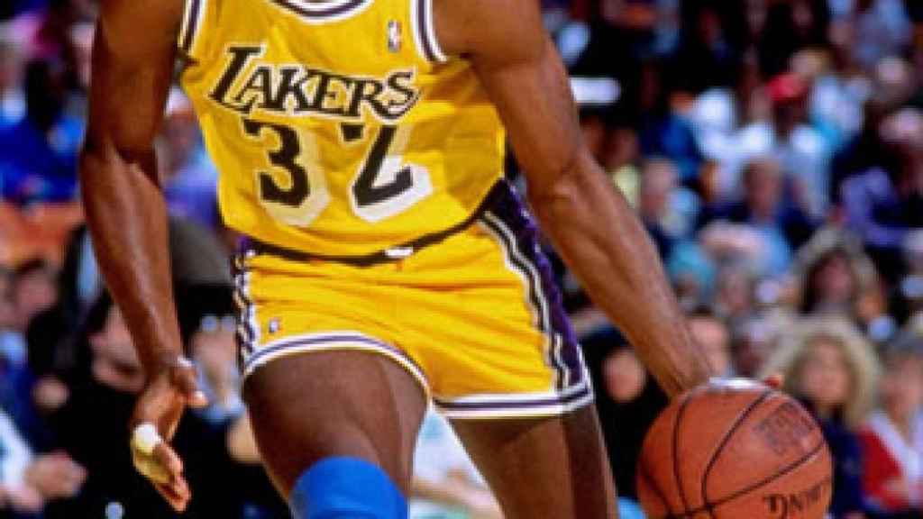 'Magic' Johnson, leyenda de la NBA